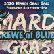 Krewe of Blues Mardi Gras Ball