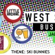 West Side Brewery Bus Loop - Ski Bunnies