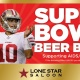 Bikey Mikey Super Bowl Beer Bust