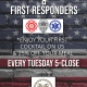 Veteran & First Responder Discount Night