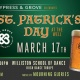 St. Patrick's Day Celebration at Cypress & Grove Brewing!