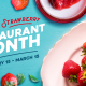 Florida Strawberry Restaurant Month |Noble Crust