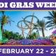 Mardi Gras Weekend at Busch Gardens Tampa Bay!
