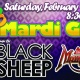 Main St Station Mardi Gras Party featuring Black Sheep