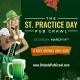 St. Practice Day Pub Crawl