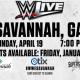 WWE Live at the Savannah Civic Center