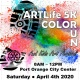 Postponed - ARTLife 5K Color Run and Kids Art Festival