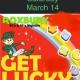St. Patricks Get Lucky Bash @ ROXBURY