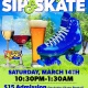 Spring Break Sip & Skate (21 and Older)