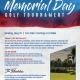 Memorial Day Golf Tournament