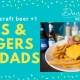 $10 Father's Day Burger & Beers
