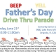 Father's Day Drive Thru Parade