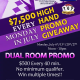 TGT & Silks Poker Poker Dual Room Promo - July 6th