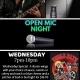 Open Mic Night every Wednesday