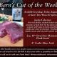 Bern's Cut of the Week