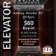$5,000 Guarantee Elevator Promotion