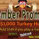 $1,000 Turkey Hunt High Hands - Fridays @ TGT