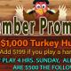 $1,000 Turkey Hunt High Hands - Sundays @ TGT
