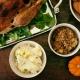 Saba Thanksgiving Meal at Home