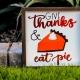 Thanksgiving Pie Sale