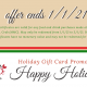 Holiday Gift Card promotion | Mr. and Mrs. Crab Juicy Seafood & Bar | Brandon