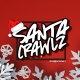 Santa Crawlz down Clematis Street with Booth Life