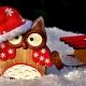 Holiday Nights Santa visit @ Edison and Ford Winter Estates