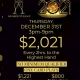 TGT & Silks NYE Dual Room Promotion