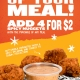 PDQ Spicy Nuggets Addon Deal