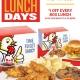 Box Lunch Days