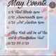 May Events at a glance ?