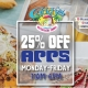 25% Off Appetizers at Caddy's St. Pete Beach 6/14 - 6/18