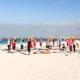 Thursday Yoga on the Beach at Caddy's Treasure Island 7/29