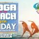 Friday Sunset Yoga on the Beach at Caddy's Treasure Island 7/30