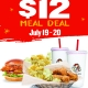 2 for $12 Meal Deal @ PDQ! July 19th & 20th