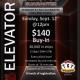 The Elevator $12,000 Guarantee Tournament at TGT Poker & Racebook