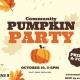 Community Pumpkin Painting Party!