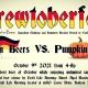 Brewtoberfest Ingredient Challenge and Homebrew Beerfest