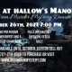 Murder At Hallow's Manor-An Interactive Murder Mystery Dinner
