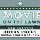 Movie on the Lawn - Hocus Pocus