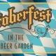 Oktoberfest in the Biergarten