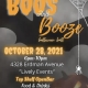 Fred presents Boo's and Booze Halloween