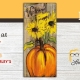 DIY Paint & Sip - Pumpkins and Sunflowers Painting Takeout Charleys