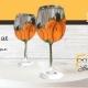 Grapevine Wine Bar - DIY Paint & Sip - DeLand - Fall Pumpkin Wine Glasses