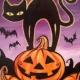 Halloween Cat 2 __Paint N Sip Class