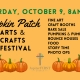 PUMPKIN PATCH ARTS AND CRAFTS FESTIVAL
