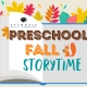 Preschool Fall Storytime