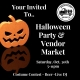 Annual Halloween Party & Spooky Market