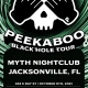 Peekaboo: Jacksonville Black Hole Tour | Wednesday 10.6.21