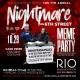 Rio Fridays ATX Halloween Meme Party